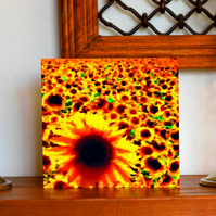 Sunflower Gift tags and Birthday Card (Combined Bundle)