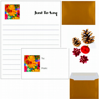 Bundle; Six Gift Cards, Six Small Note Cards, Greeting Card & A3 Wrapping Paper