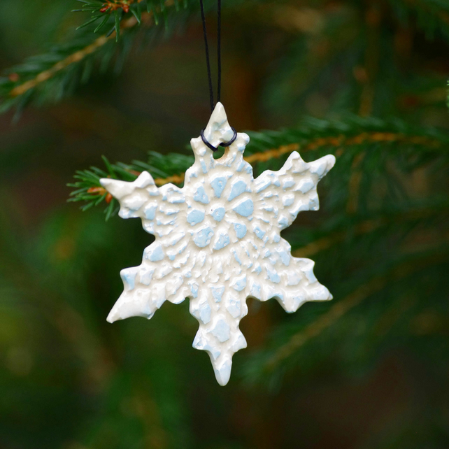Snowflake - Decorations (Blue) (2)