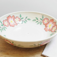 Medium Bowl - Wild Rose