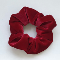 Red Velvet Scrunchie Hairband