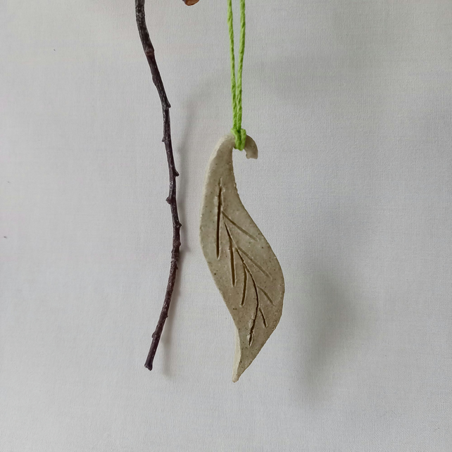 Willow Leaf Hanging Decoration