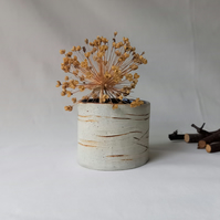 Small Vase, Birch Bark Pattern