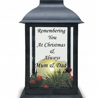 Christmas LED Lantern Grave Light Christmas Grave Decoration Grave Ornament