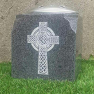 Personalised Granite Memorial Vase Grave Pot Flower Holder Cemetery Grave Vase