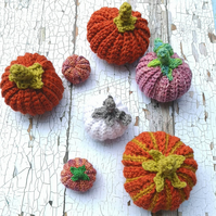 Crochet Pumpkins for Alters and Season Tables
