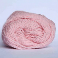 BARGAIN PACK OF 10 x 25g balls of yarn, Jamieson & Smith Pink Shetland 2ply Lace