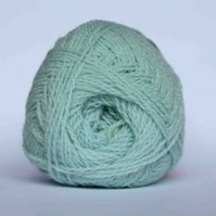 2ply Shetland Lace Knitting Yarn 25g balls in Mint Green