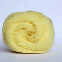 BARGAIN PACK 10 x 25g balls of yarn, Jamieson & Smith Lemon Shetland 2ply Lace