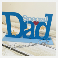 Special Dad Freestanding Plaque