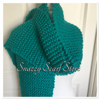Hand Knitted Jumbo XL Scarf