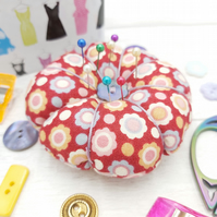 Cute pin cushion, sewing gift, handmade, free delivery