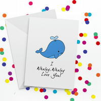 Whaley Love You Anniversary-Love You Card