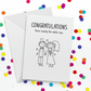 Totally Adults Funny Wedding Card