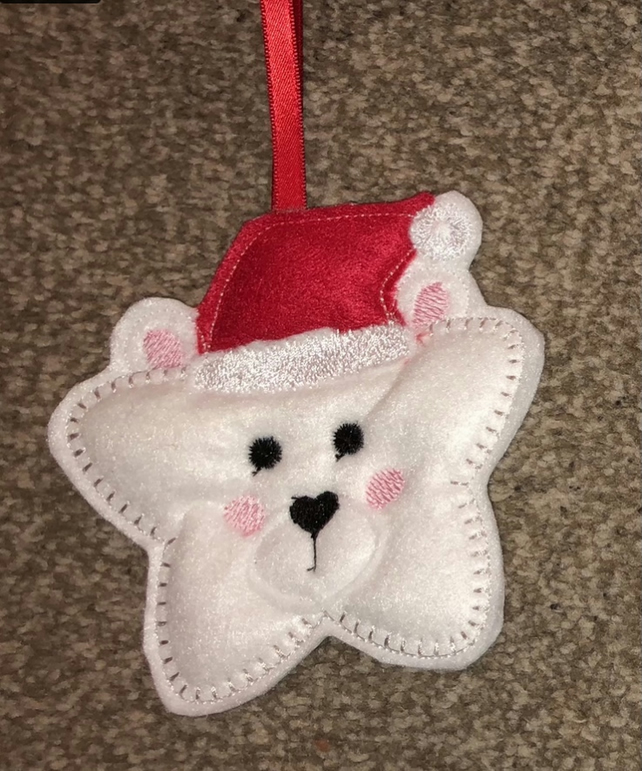 Christmas Character Star Decoration