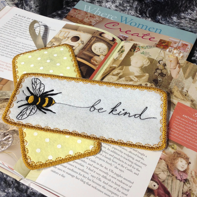 Bee Be Kind Bookmark