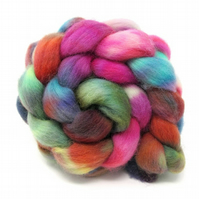 Dorset Horn Hand Dyed Combed Wool Top British Breed 100g DH10
