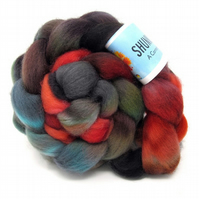 Dorset Horn Hand Dyed Combed Wool Top British Breed 100g DH5
