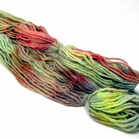 Cheviot Roving Wool Hand Dyed Pencil Roving Giant Yarn Knitting 200g PR26