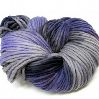 Hand Dyed Pencil Roving Cheviot Wool Giant Yarn Knitting 200g PR17