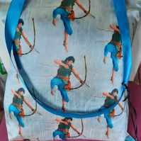 Indian Archer Handmade Silk Bag