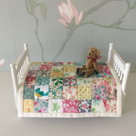 Doll's house patchwork quilt
