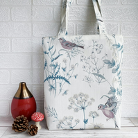 Tote Bag with Chaffinches in Wild Flower Meadow