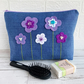 Jewel Flowers Toiletry Bag