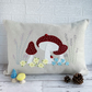Mushrooms, Flowers and Ladybirds Cushion