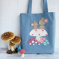 Mice on a Mushroom Tote Bag