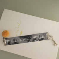 """""""Sparkle Like Prosecco"""" Vintage Key & Pom Pom Bookmark! - Just Lovely Things!"""