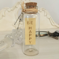 """""""Be Happy!"""" Bride & Groom Message in a Bottle Gift! - Just Lovely Things!"""