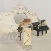"""Good Luck!"" Message in a Bottle Gift - Just Lovely Things!"