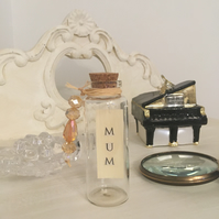 """""""Mum"""" Message In A Bottle Keepsake Gift! - Just Lovely Things!"""