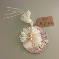 """""""Smile!"""" Hanging Gift Plaque! - Just Lovely Things!"""
