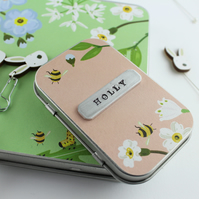Personalised Pins and Needles Tin & Needle Minder