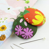2 Large Wild Flower Needle Minders
