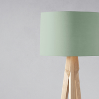 Plain Sage Green Lampshade, Ceiling or Table Lamp