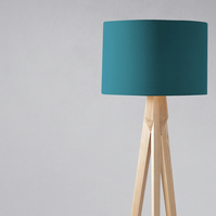 Plain Teal Lampshade, Ceiling or Table Lamp