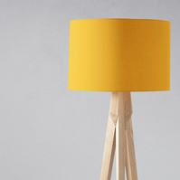 Plain Yellow Lampshade, Ceiling or Table Lamp