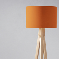 Plain Orange Lampshade, Ceiling or Table Lamp
