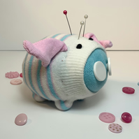 Percy Sock Pig Pin Cushion