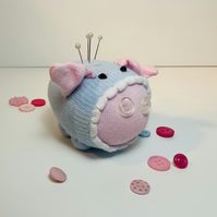 Parker Sock Pig Pin Cushion