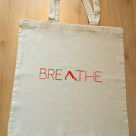 Breathe, Tote bag