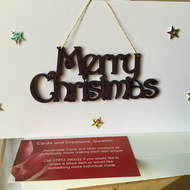 A simple Christmas card and decoration all in one! CC309