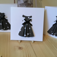 Set of three dress cards. Notelets. Gift cards.CC348