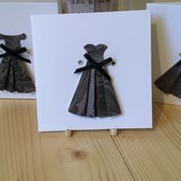 A set of three dress cards. Any occasion cards. Notelets CC349