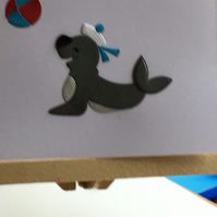 A cute seal card for any occasion. CC391