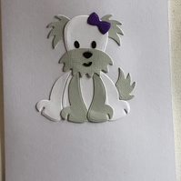 Cute dog card for any occasion. CC382