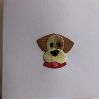 Cheeky dog card. Any occasion card. Gift card. CC377